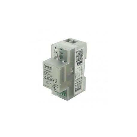 Qubino ZMNHTD1 - Medidor de energía Z-wave Plus MEDIDOR INTELIGENTE riel DIN