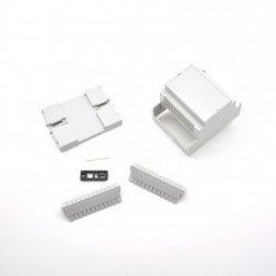 Enclosure DIN Rail vented M4 Kit from CAMDENBOSS