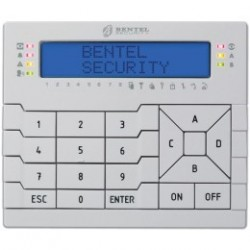 BENTEL - LCD Keypad badge reader, for central alarm ABSOLUTA