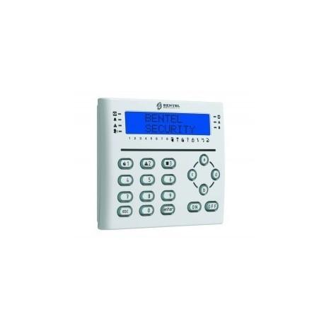 Clavier LCD T-BLANC BENTEL avec lecteur de badge