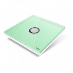 EDISIO - cover Plate, Diamond - Bright Green-1 key