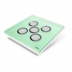 EDISIO de la cubierta de la Placa de Diamante - la Luz Verde de 5 llaves