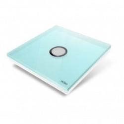 EDISIO de la cubierta de la Placa de la Luz del Diamante Azul de 1 botón