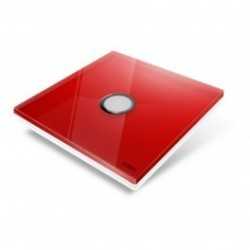 EDISIO - cover Plate Diamond - Red-1 key