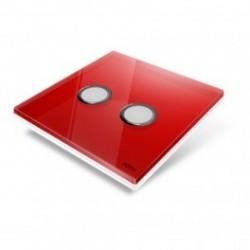 EDISIO de la cubierta de la Placa de Diamante Rojo 2 llaves