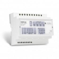 EDISIO - Receiver rail DIN RAIL 868,3 MHz drive