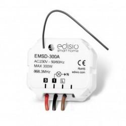 EDISIO - Récepteur 868,3 MHz Marche / Arrêt / Variateur sans neutre