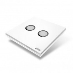 EDISIO - Switch Elegance White 2 Keys White Base