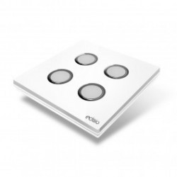 EDISIO - Switch Elegance White 4 Keys white Base