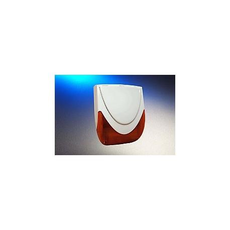 MAGNA-F Elmdene - Sirena de alarma con cable al aire libre con la batería