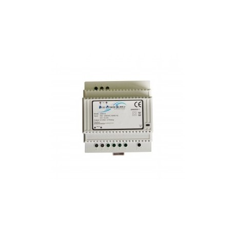 ELKA - Power supply 12 V DC 3,75 A DIN rail