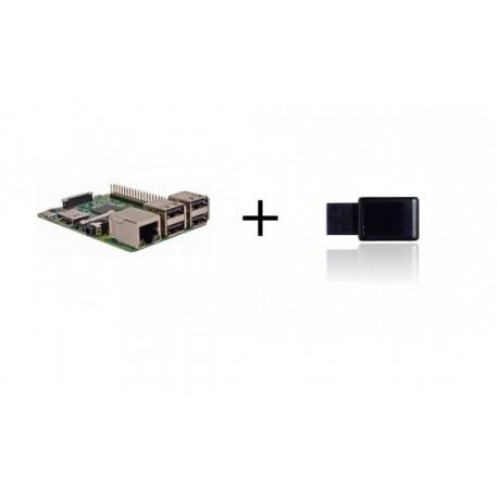 Frambuesa PI3 - Frambuesa Pi3 con controlador Z-wave más
