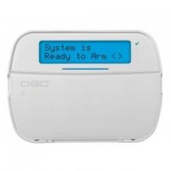 PowerSeries NEO Teclado DSC LCD HS2LCDRFP DSC con receptor de radio y lector de placas de identificación