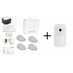 Pack Alarme LE SUCRE - Pack Honeywell avec détecteur caméra