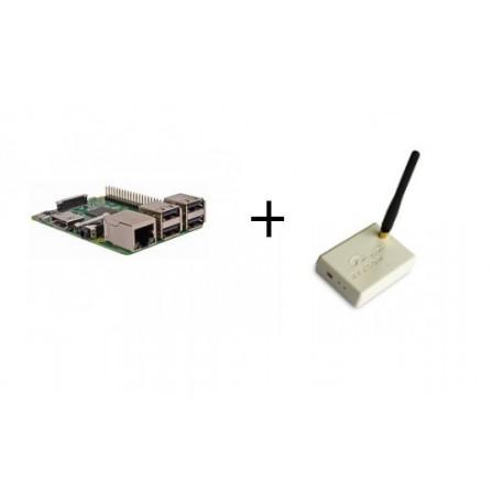 Lampone PI3 - Raspberry Pi 3 Modello B (WiFi e Bluetooth) con il trasmettitore Rfxcom 433 Mhz