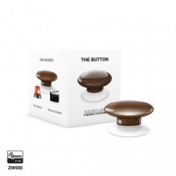FIBARO - Schaltfläche The Button Z-Wave-Plus-braun