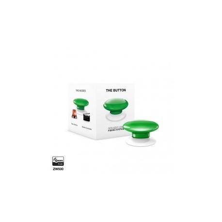 FIBARO - Bouton de commande The Button Z-Wave Plus vert