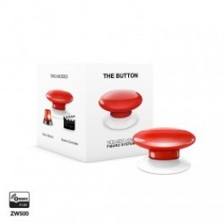 FIBARO - Schaltfläche The Button Z-Wave-red