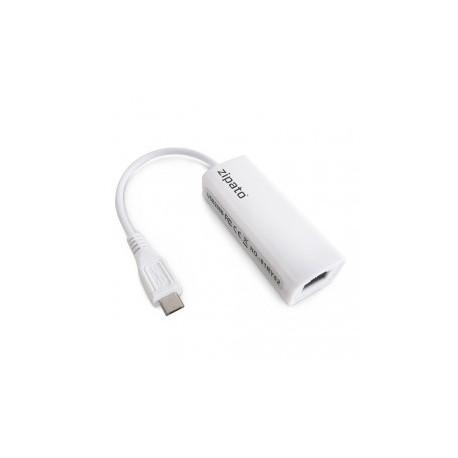 ZIPATO - RTL8152 Adapter Micro-USB-auf-Ethernet-Zipatile