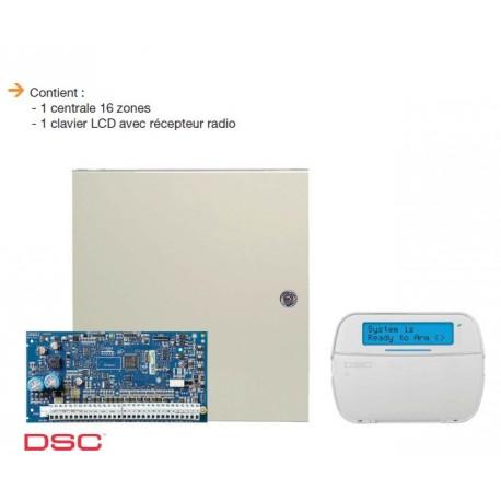 Alarma NEO DSC - Pack central de alarma NEO 6 a 16 zonas con teclado