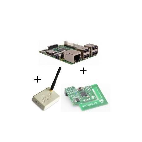 Raspberry - Raspberry Pi 3 avec carte z-wave.me et Rfxcom