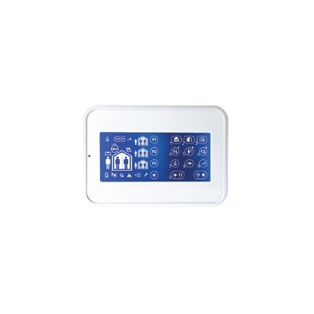 WK160 DSC Inalámbrico Premium - Teclado táctil para la central de alarma Inalámbrica Premium