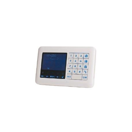 WK250 DSC Wireless Tastiera Premium touch lettore di badge, per centrale di allarme Wireless Premium