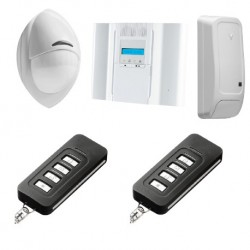 Alarm DSC Wireless Premium - Pack alarm Wireless Premium PowerG F1/ F2