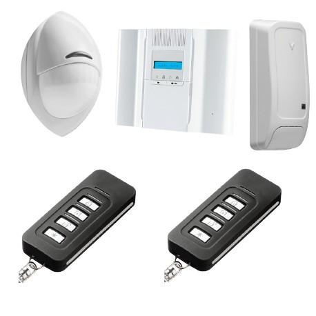 Allarme DSC Wireless Premium - Pack di allarme Wireless Premium PowerG F1/ F2