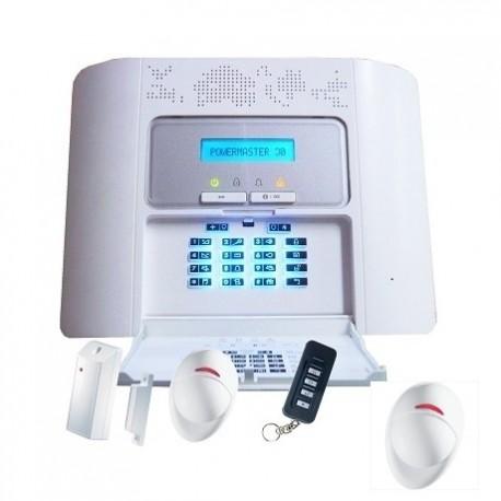 La alarma de la casa PowerMaster 30 kit de Visonic