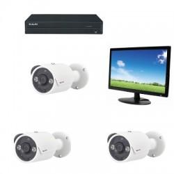 Pack vidéosurveillance analogique HD 1080P PACK-H408