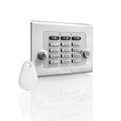 Somfy alarma - Teclado con lector de placas de identificación