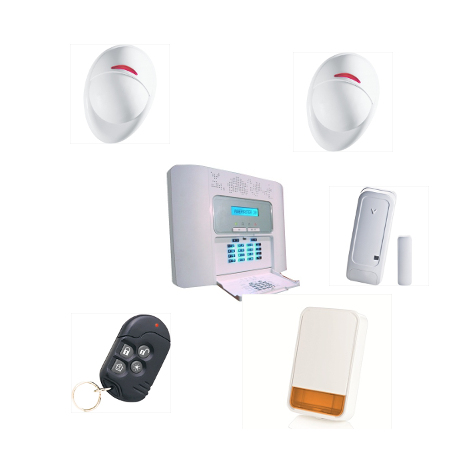Alarme maison PowerMaster 30 Visonic NFA2P pour habitation KIT 2 Plus