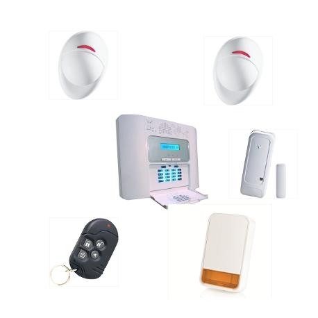 La alarma de la casa PowerMaster 30 De Visonic NFA2P vivienda KIT de 2 Más