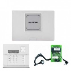 Kit de alarma Elkron KITMP500/8 - Central de alarma con cable conectado 8 a 64 zonas con teclado