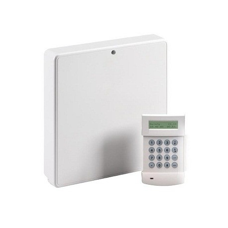 Central de alarma Galaxy Flex20 - Central de alarma Honeywell 20 zonas con teclado