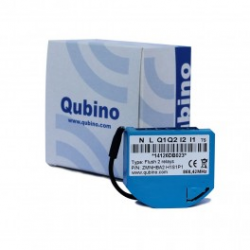 ZMNHBD1 Qubino micro-module switch 2 relay and conso-meter Z-wave+ ZMNHBD1