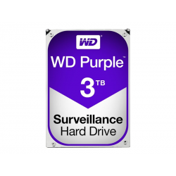 Disque dur Purple - Western Digital 3To 5400 tr/m 3,5""