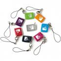 Badge-Visonic-3er-pack-TAG in farbe