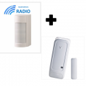 Visonic VXI-RDAM - Détecteur alarme extérieur OPTEX ANTI-MASQUE