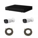 Pack de video vigilancia IP DAHUA 4 Megapíxeles de cámara con 2 cámaras