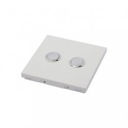 DIO - Interrupteur 868 Mhz 2 canaux blanc