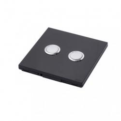 DIO - Switch 868 Mhz, 2 channels black