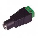Conector de alimentación DC 12v-24v 2.1 mm