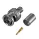 BNC-stecker crimp für kabel HR6