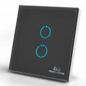 MCOHOME MH-S412B-EU - Schalter-touchscreen-glas Z-Wave Plus