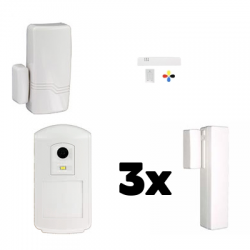 Alarm house THE SUGAR Honeywell - Pack Honeywell security IP and GSM
