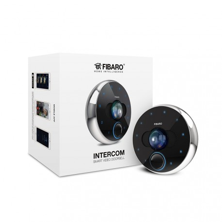FIBARO - video door connected to Fibaro Intercom