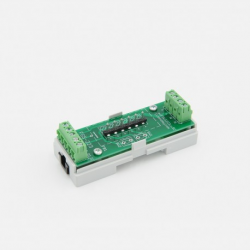 EUTONOMY - Adapter euFIX DIN for Fibaro FGS-223 without buttons