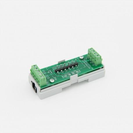 EUTONOMY - Adaptateur euFIX DIN pour Fibaro FGS-223 sans boutons